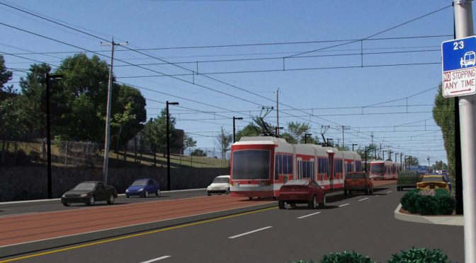 rendering of Red Line